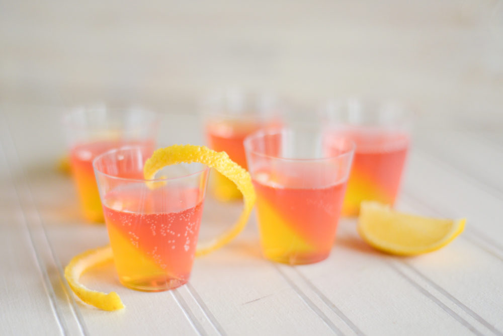 French 75 Jell-O Shots